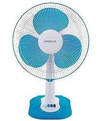 Havells Swing ZX 400mm Table Fan (Dark Blue)