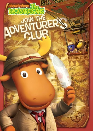 The Backyardigans: Join the Adventurers Club - Dvd Backyardigans