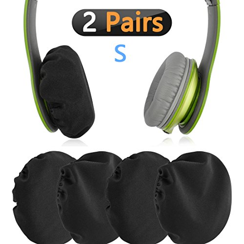 Stretchable Fabric Headphone Covers / Washable Sanitary Earcup Earpad Covers Fits 1.6