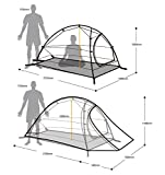 NatureHike Im Freien Wasserdichte Zelt Doppelschicht Zelt Ultraleicht Camping Zelt fur 1 Personen - 7