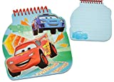 Unbekannt 1 Set - 3-D Notizblock liniert - mit Glitzer - für Kinder - Cars - Planes - Mickey Mouse - für Jungen - Kugelschreiber / Kuli - für Schreibtisch / Schule Noti..