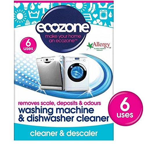 Preisvergleich Produktbild Ecozone Waschmaschine & Geschirrspüler Entkalker Tabletten pro Packung 6