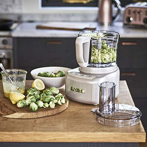 51gAaHZGrSL. SS500  - Cuisinart Style Collection Easy Prep Pro   2 Bowl Food Processor With 1.9L Capacity   Frosted Pearl   FP8SU