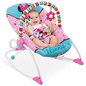 Disney Baby Minnie Mouse PeekABoo Infant to Toddler Rocker from Kids II UK Limited