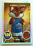 BUNDESLIGA MATCH ATTAX 2016/17–Fussball Fuchs–Limitierte Auflage (Edition) Trading Card–# lewg