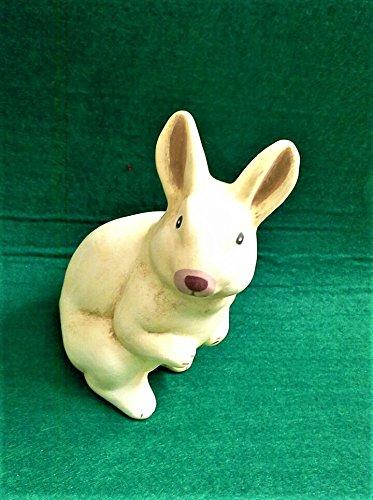 Ostern-Kaninchen-Keramik