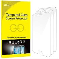 JETech J0806 Film de Protection d'écran pour iPhone 6s et iPhone 6 en Verre Trempé, Lot de 3