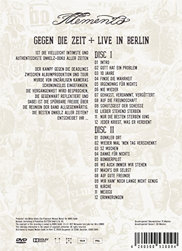 Memento-Gegen die Zeit+Live in Berlin [3 DVDs]