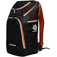 "Port Designs Gaming - Mochila para portátiles y netbooks de hasta 17"", color negro y naranja"