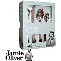Jamie Oliver-Essential-set di posate, 16 pezzi, acciaio INOX