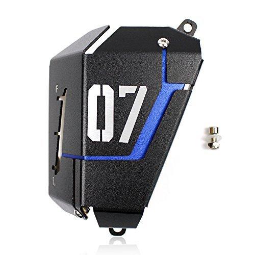 FATExpress Motorrad Kühler Wasserkühler Tankschutzhaube für 2013-2016 Yamaha FZ-07 MT-07 FZ07 MT07 FZ MT 07 2014 2015 13-16 (Blau)