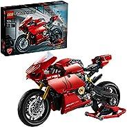 LEGO 42107 Technic Ducati Panigale V4 R, Flerfärgad, 646 Delar, 0,38 x 0,07 x 0,26 cm