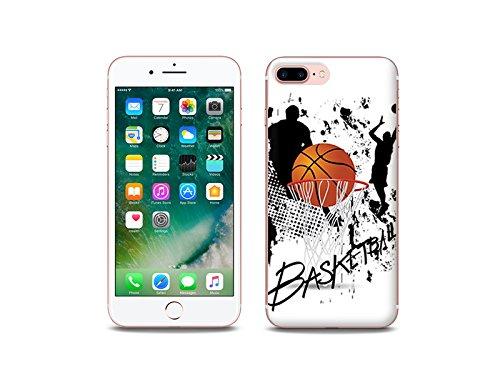 etuo Apple iPhone 8 Plus Handyhülle Schutzhülle Etui Hülle Case Cover Tasche für Handy Fantastic Case - Basketball
