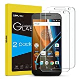 SPARIN Moto G4 Screen Protector, 2 Pack Tempered Glass