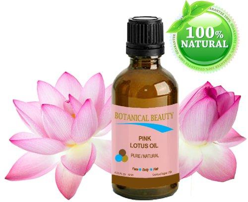 Huile Lotus Rose Pure / Naturelle 10 ml. Pour Visage, Corps, Et Cheveux. \