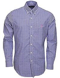 Chemise écossaise Ralph Lauren bleu pour homme