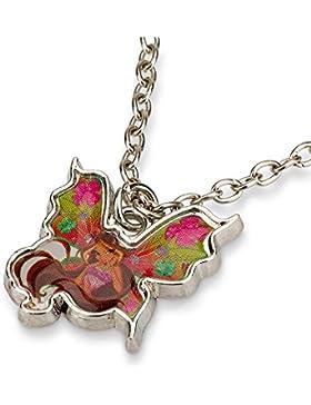 Winx Club Offiziell lizensierter Halskette Schmetterling Anhänger - Lizensierter Winx Club