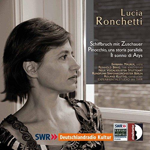 Ronchetti: Schiffbruch mit Zuschauer, Pinocchio, una storia parallela & Il sonno di Atys Ein Zuschauer