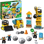 LEGO DUPLO Town Wrecking Ball Demolition 10932 building set, Preschool Toy for Toddlers 2+ years old (56 piece