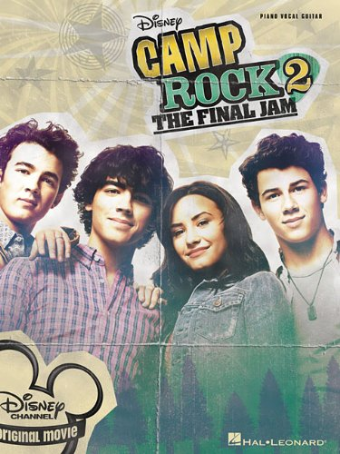 Camp Rock 2 The Final Jam Piano Vocal Guitar Book
