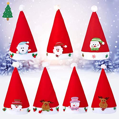 e Weihnachten Hut Kind Geweih Weihnachten Hut Schneemann Dekoration Weihnachten Handwerk Geschenke ()