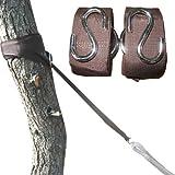 Eyepower - Set completo di fissaggio ad albero per amache, misura XXL, 6,4 m, max. 250 kg