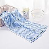 DIDIDD Serviette absorbante douce en coton pur,B