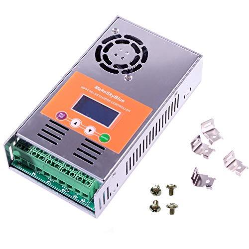 MakeSkyBlue 40A MPPT Solar Charge Controller for 12V 24V 36V 48V Charging System Solar Power Regulator(40A-V118,LCD,MPPT) - 36v Controller Solar Charge