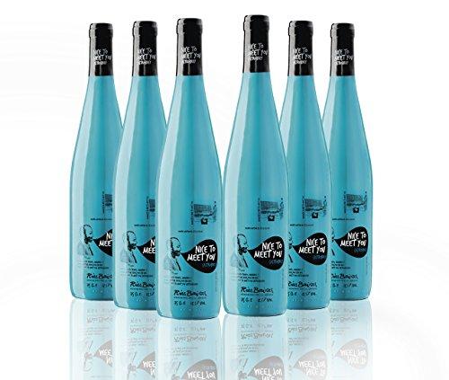 Nice to Meet You Vino Blanco Albariño Rías Baixas 2014 - 75cl - 6 botellas