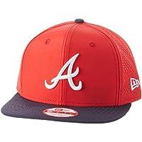 New Era Team Ripstop Atlbra Otc - Cappello Linea Atlanta Braves da Uomo, colore Blu, taglia M-L