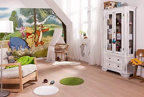 Komar Disney Winnie The Pooh Expedition, Carta da Parati, Vinile, Multicolore, Pezzi