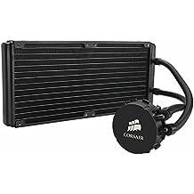 Corsair Hydro Series H110 Extreme Performance - Sistema de refrigeración líquida para CPU de Alto Rendimiento (diseño Compacto, 280 mm) (CW-9060014-WW) (Reacondicionado Certificado)