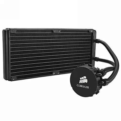 Corsair CW-9060014-WW Hydro Series H110 Sistema di Raffreddamento per CPU, Nero