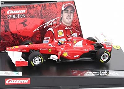 "Carrera - Coche Evolution 132 Ferrari 150° Italia ""Fernando Alonso, No.5"" (20027417E) de Carrera"