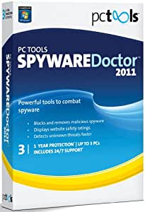 PC Tools Spyware Doctor 2011, 3 Computers, 1 Year Subscription (PC)