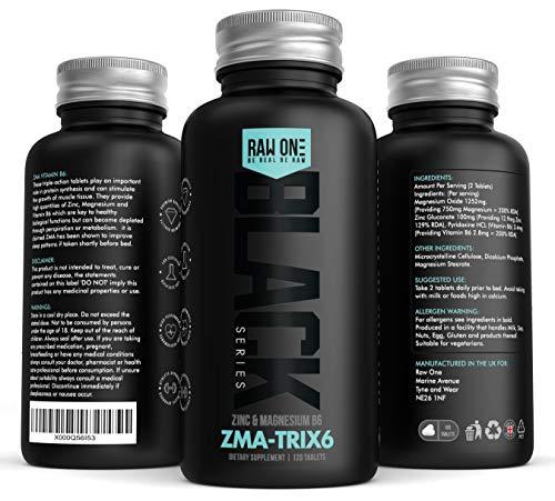 ZMA Extreme | Zinc, Maganesium Vitamina B6 ZMA Suplemento | Promueva la fuerza muscular, la resistencia y la recuperación, aumente los niveles de testosterona, reduzca el cansancio, mejore el sueño