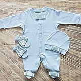 Baby Strampler Blau oder Pink 0-3m