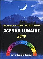 Agenda lunaire 2009 : L'agenda tout en couleur