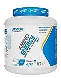 Amino Energy integratore alimentare di BCAA ed estratti vegetali con taurina, l-norvalina e altri fattori nutrizionali (Arancia) 250 grammi