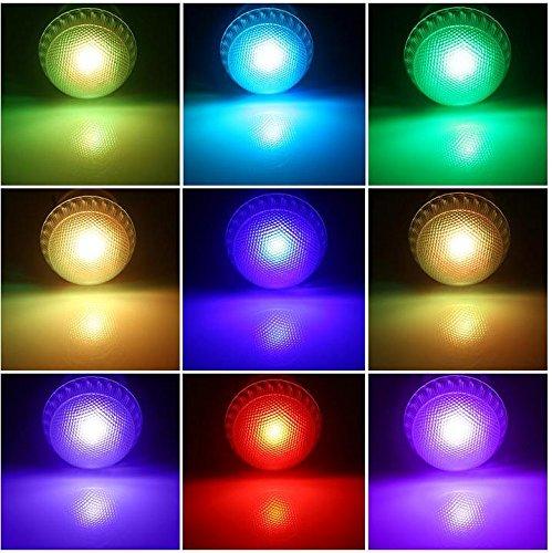 GJY LED BELEUCHTUNG3W Rgb Led Birne E27 Led Licht Infrarot Fernbedienung Multi-Color Wechselbar , Colorful,colorful (Birnen Erwachsene Kostüme)