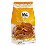 Mini Caramel Wafers Waffles Biscuits Stroopwafels Hamlet 200g (1 Supplied)