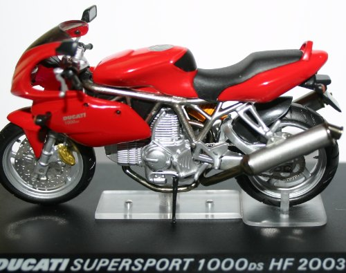 Ducati Supersport 1000ds HF 2003, bike 1,24 échelle