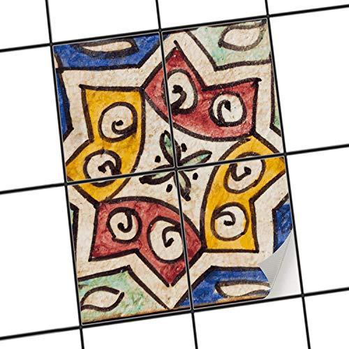 Piastrelle adesive per interni-decori   Pellicola adesiva piastrelle ...