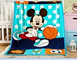 Best Toddler Blanket - Baby Grow Kids Cartoon Flannel Blanket Throw Review