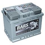 Autobatterie 12V 55Ah 550A Bars Platinum Starterbatterie Wartungsfrei