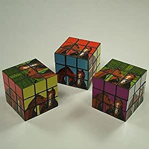 William Hunter Equestrian Puzzle Cube - Horse - Colour Co-ordinated Puzzle With Horse Pictures On - Great Present Or Stocking Filler For Horse & Pony Lovers - A Good Game For All The Family