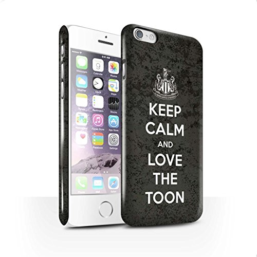 Officiel Newcastle United FC Coque / Clipser Brillant Etui pour Apple iPhone 6 / Pack 7pcs Design / NUFC Keep Calm Collection Amour Toon