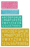 Westcott Buchstabe schablonendrucke Guides (4Größen)