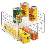 InterDesign 62610EU Umdrehbare Schrankbox Speisekammer Organizer für Alufolie, Konserven, durchsichtig