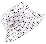 Regenhut Damen Breite Krempe Anglerhut UV Schutz Schlapphut Fischer Fischerhut